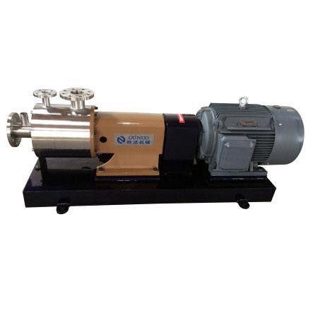 三级管线式龙8官网手机版/泵(带夹套/可对工作腔加热或冷却)