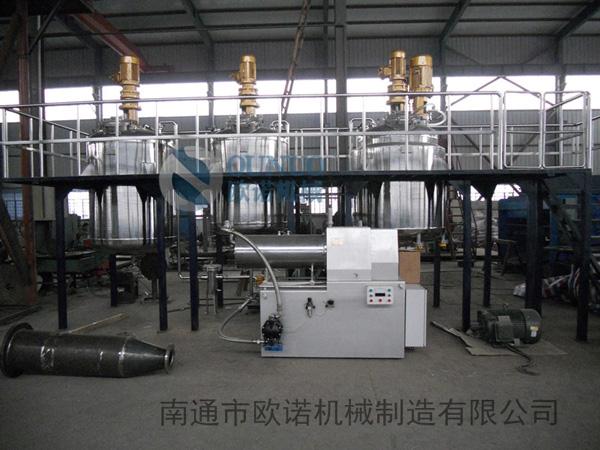 农药悬浮剂成套设备